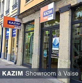 Showroom Kazim à Vaise